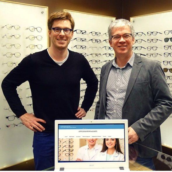 Jean-Philippe Hellio & Romain Lucas Opticiensremplacants.com