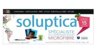 Visuel bannière Soluptica - opticiensremplacants.com